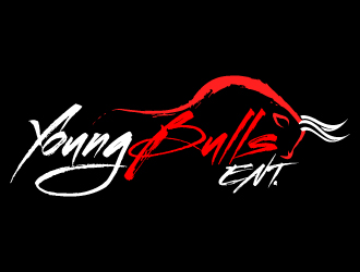YoungBulls ENT. logo design