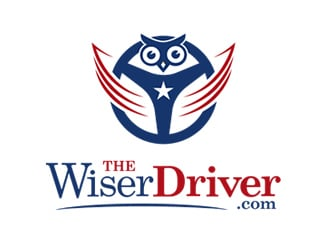 The Wiser Driver.com logo design