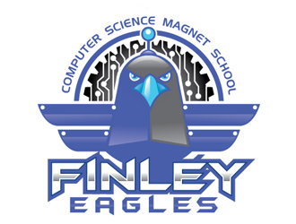 Finley Eagles logo design