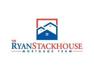 The Ryan Stackhouse Team Mortgage logo design