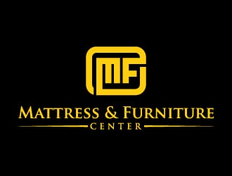 Mattress & Furniture Center logo design
