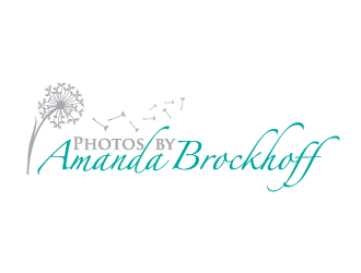 Photos by Amanda Brockhoff logo design