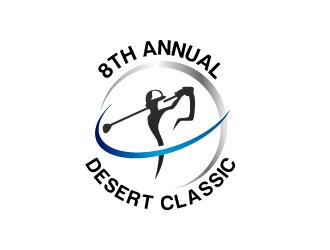 8th Annual Desert Classic logo design