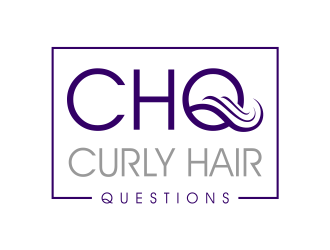Curly Hair Questions logo design