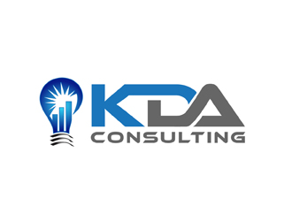 KDA Consulting logo design