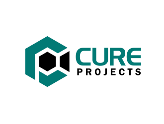 Cure Projects logo design