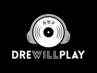 DreWillPLAY logo design