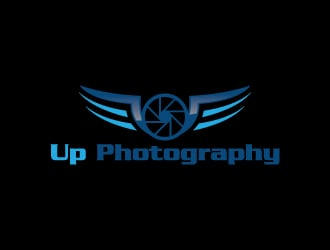 Up Photography logo design