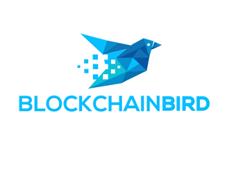 Blockchain Birds logo design