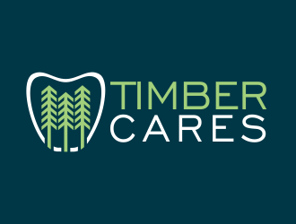 Timber Cares logo design