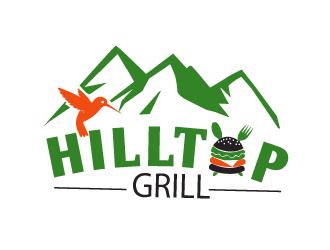 Hilltop Grill logo design