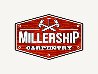 Millership Carpentry logo design