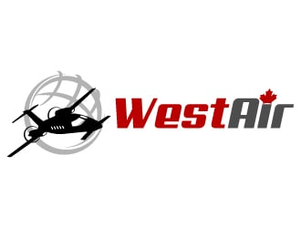 Westair logo design