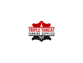 Triple Threat Tanning Supplies logo design
