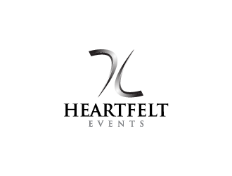 Heartfelt Events logo design