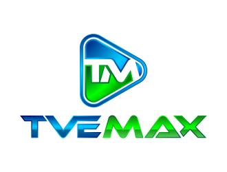 Tve Max logo design