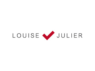 Louise Julier LLC logo design