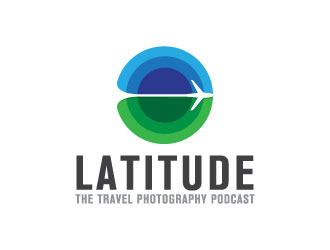 Latitude: THE Travel Photography Podcast logo design