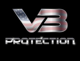 V3 Protection logo design