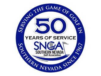 Southern Nevada Golf Association logo design