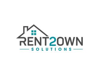 Rent 2 Own Solution logo design