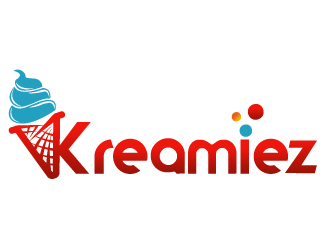 Kreamies logo design