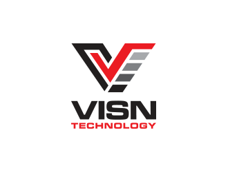 VISN Technology logo design