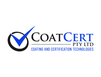 CoatCert Pty Ltd (Coating and Certification Technologies) logo design