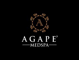 Agape Medspa logo design