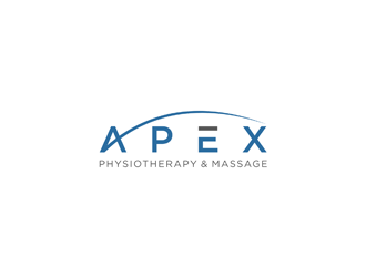 Apex Physiotherapy & Massage logo design