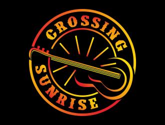 CROSSING SUNRISE logo design