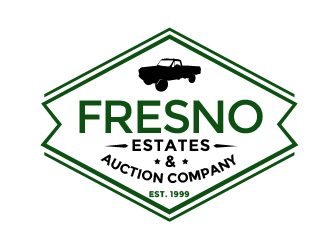Fresno Auction Company logo design