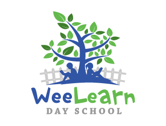 Wee Learn Day School logo design