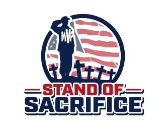 Stand of Sacrifice logo design