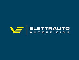VE ELETTRAUTO  AUTOFFICINA logo design