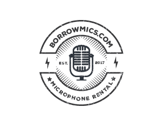 borrowmics.com logo design