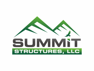 SUMMIT STRUCTURES, LLC logo design