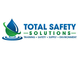 Total Safety Solutions logo design