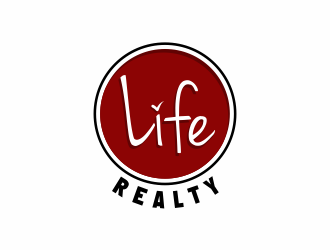 Life Realty Group logo design