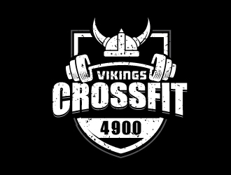 CrossFit 4900 Vikings logo design