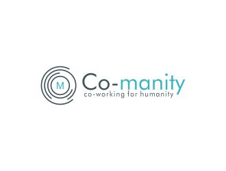 Co-manity logo design