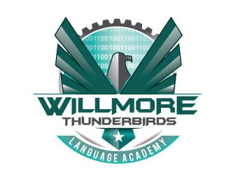 Willmore Thunderbirds logo design