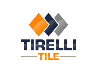 Tirelli Tile logo design