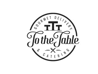 To The Table logo design