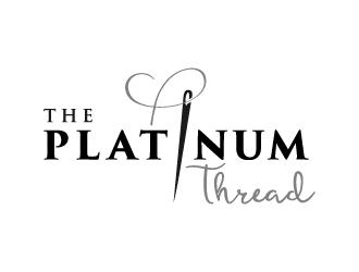 The Platinum Thread logo design