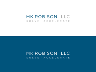 MK Robison LLC logo design