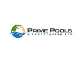 Prime Pools & Landscaping Ltd. logo design