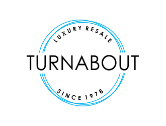 Turnabout logo design