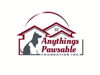 Anythings Pawsable Foundation Inc logo design