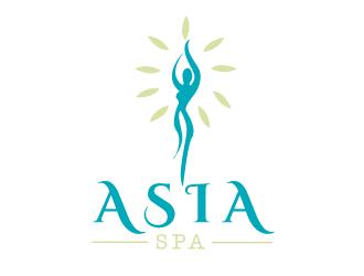 Asia spa logo design